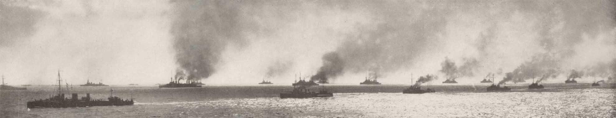 Vestmaktenes flåte utenfor Dardanellene 1915