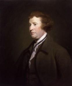 Edmund Burke ca 1768. Maleri av Joshua Reynolds. Ingen opphavsrett grunnet alder