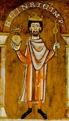Keiser Henrik 4. av det Hellige Tysk-Romerske riket.