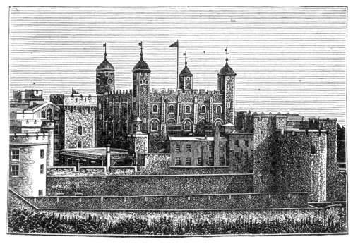 White Tower, det store slottet i midten av Tower of London, ble bygget av Vilhelm Erobreren som et forsvarsverk og støttepunkt i London. Navnet kom av at veggene var kalket hvite, men vær og vind har vasket dette vekk over tid.
