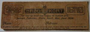 Brødkort 1920