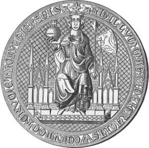 Den felles norske og svenske kong Magnus Erikssons domsegl.