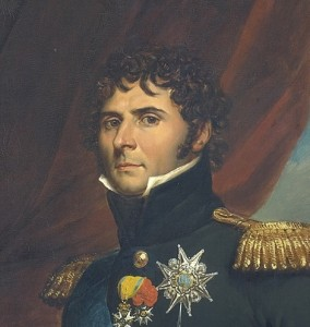 Bernadotte tok navnet Karl Johan da han ble tronfølger i 1810. Her er han på et oljemaleri fra 1811.
