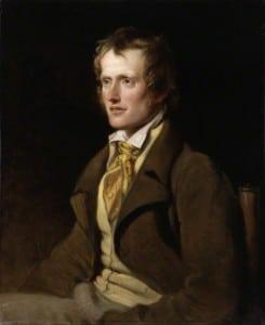Dikteren John Clare (1793-1864) er kjent om innhegningsbevegelsens og jordbrukets poet i England.