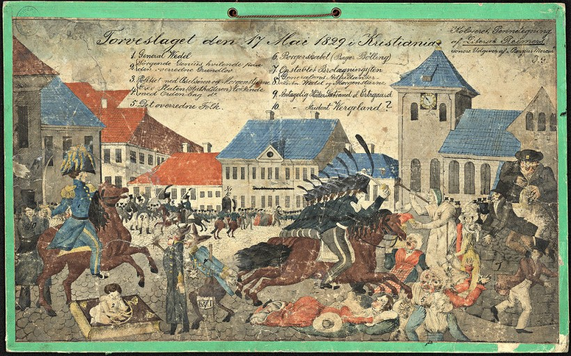 Torvslaget 1829