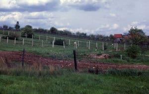 Grensen mellom øst og vest-tyskland 1962