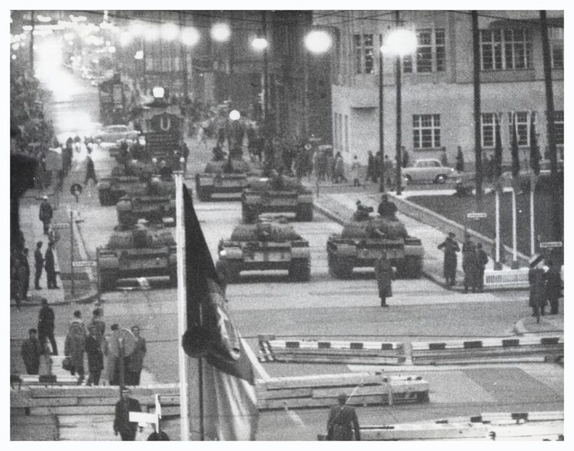 Stand off at checkpoint charlie