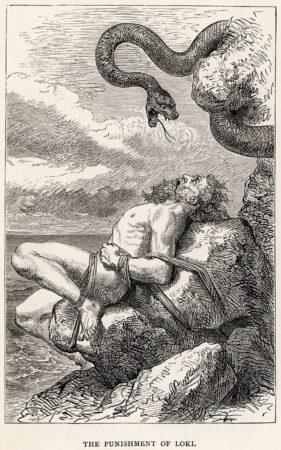 Lokes straff for drapet på Balder