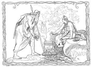 Odin og volven