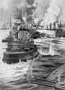 2/3 av den russiske flåten ble senket under slaget ved Tsushima våren 1905