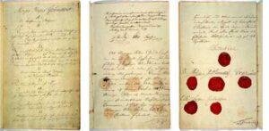 Grunnloven av 17. mai 1814.