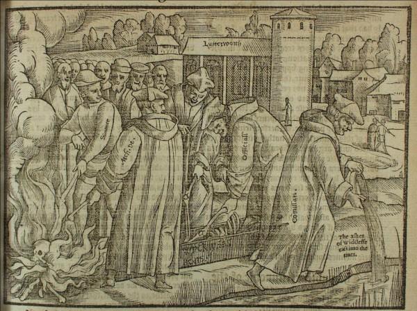 Stikk fra 1563 av John Foxe