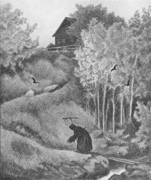 Fra Th Kittelsens bok Svartedauen