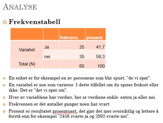 Kvantitativ analyse 2