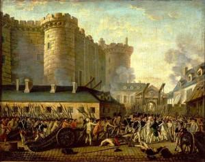 Frankrikes feirer sin nasjonaldag på dagen for stormingen av fengslet Bastillen i Paris den 14. juli 1789. Ironisk nok var den gamle middelalderbastionen for lengst bestemt nedlagt og rommet bare noen få eldre fanger samt et par mentalt sinnsyke.