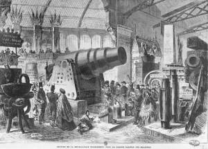 Bakladete kanoner slik som her fra Krupp-fabrikkene, var essensielle for den prøyssiske seieren over Frankrike i 1870-71.