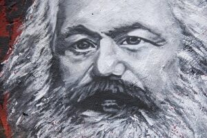 Bilde: Karl Marx maleri av Abode of Chaos, CC 2.0 flickr https://accounts-flickr.yahoo.com/photos/home_of_chaos/
