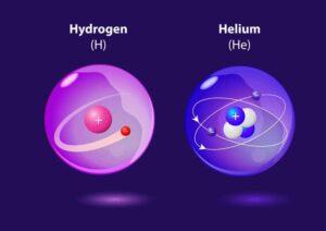 "De første elementene hydrogen og helium. Illustrasjon: <a href=""http://www.123rf.com/profile_designua"">designua / 123RF Stock Photo</a>"
