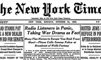 The New York Times Oct 31, 1938