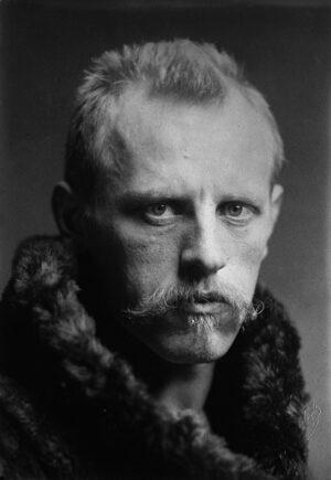 Fridtjof Nansen 1915. Ingen opphavsrett.
