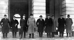 Regjeringen Nygaardsvold var arbeiderpartiets andre regjering, og skulle bli sittende langt lengre enn Regjeringen Hornsrud sju år tidligere. Kilde: Arbeiderpartiets historiske bilder, Flickr, CC 2.0