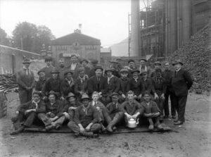 Samfundshjelpen var organiserte streikebrytere