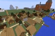 Middelalderoslo bygget i Minecraft